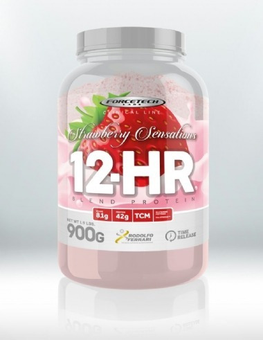 12-hr blend protein - 900g chocolate - forcetech labs