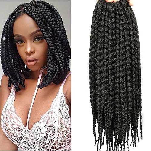 12 Inch Crochet Braid Box Braids Hair Braiding Wigs Crochet
