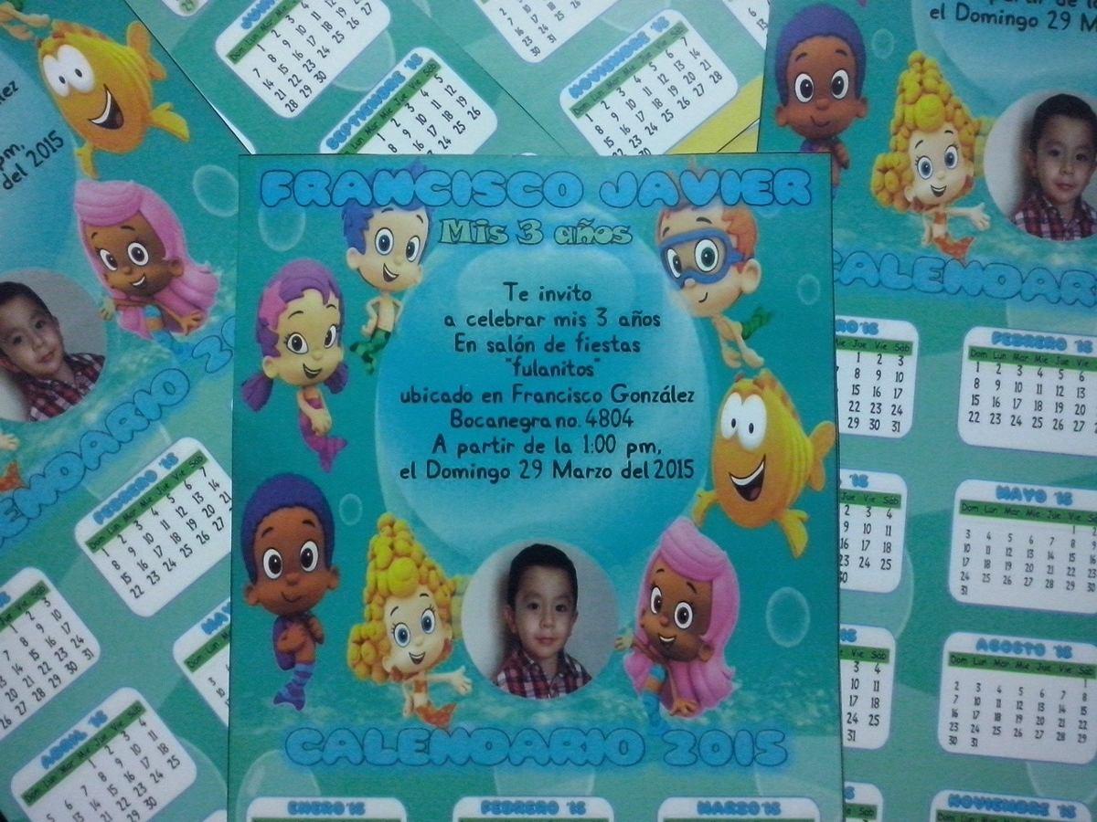 12 Invi Calendario 2016 Cualquier Personaje (31x15cm) - $ 165.00 en ...
