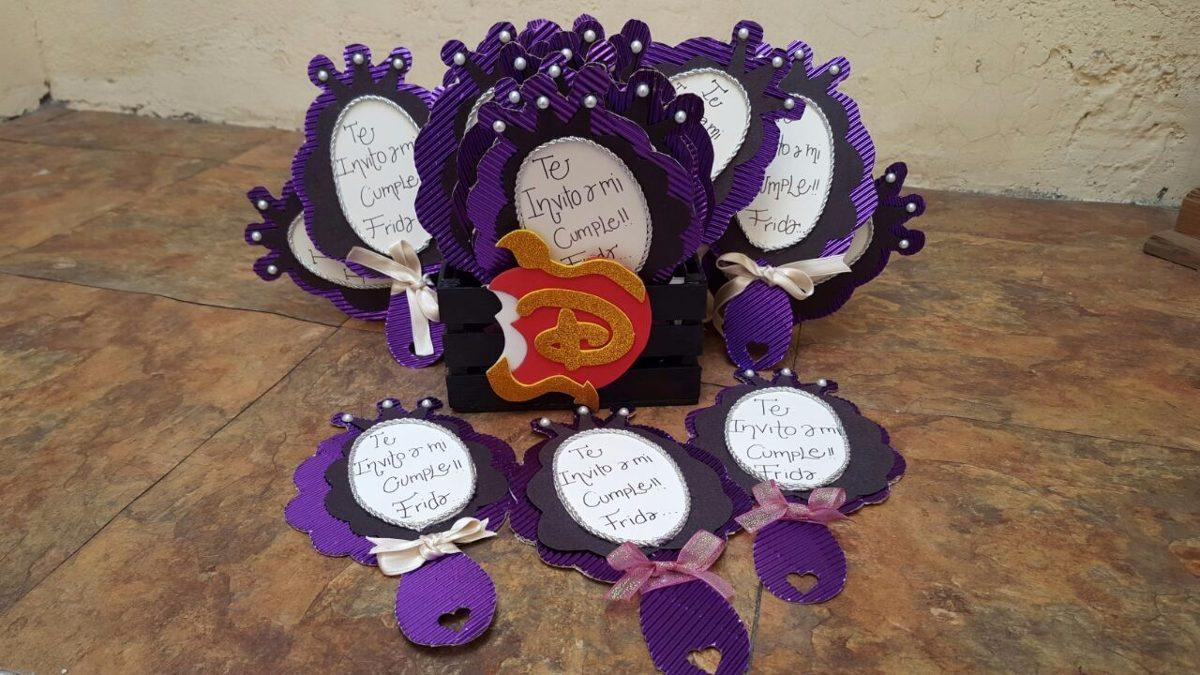 12 Invitaciones Descendientes Princesa Sof 237 A