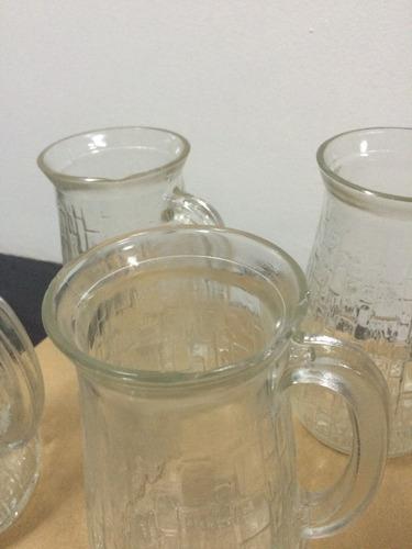12 jarra de vidrio con detalles para armar centros de flores