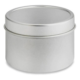 12 Latas De Metal 8 Oz (236 Ml) Multiusos Velas, Cremas, Etc