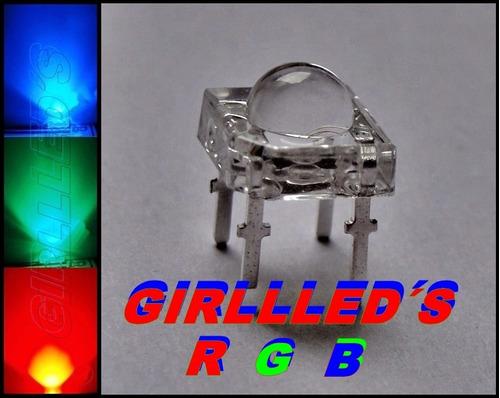 12 leds rgb piranha 5mm controle manual - arduino = r$ 21