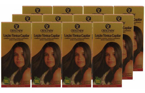 12 loção anti-queda produtos de cabelo - tônico crescenew