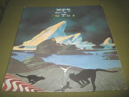 12'' lp en vinyl importado de yes - drama (1980)