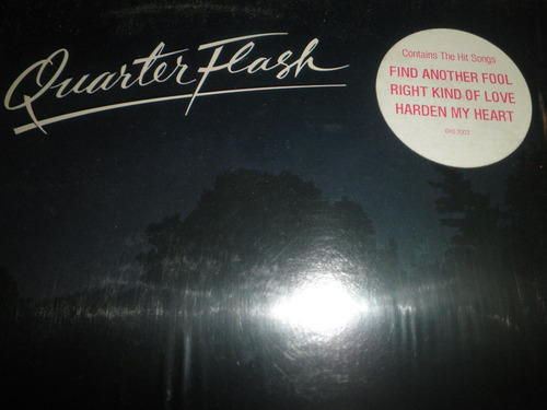 12'' lp vinyl importad de quarterflash - quarterflash (1981)
