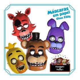 12 Máscaras Fnaf Five Nights At Freddys  - Frete R$10