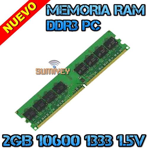 #12 memoria 2gb ddr3 1333mhz pc3-10600 1.5v cl=9 dimm