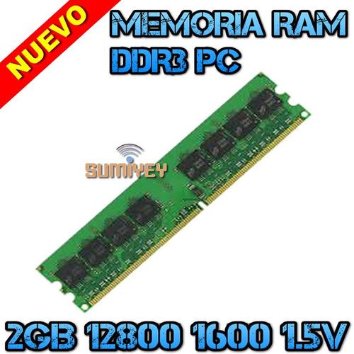 #12 memoria 2gb ddr3 1600mhz pc3-12800 1.5v cl=11 dimm