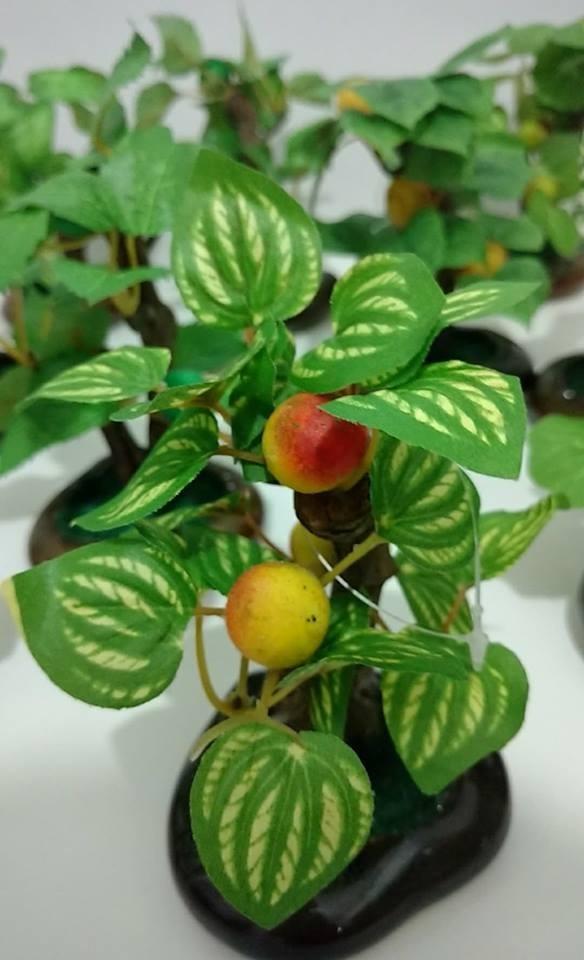 12 Mini Arvores Bonsai Frutiferas Artificiais Planta Arranjo