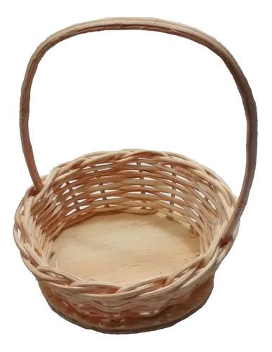 12 mini cesta lembrancinha palha bambu ref.204 04x10