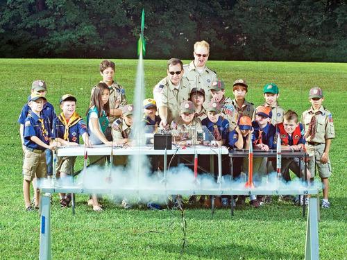 12 mini foguete alpha iii -sucesso nos eua voa de verdade