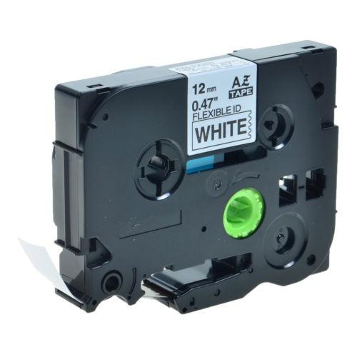 1/2 '' negro sobre blanco tz-fx231 tze-fx231 etiqueta cinta