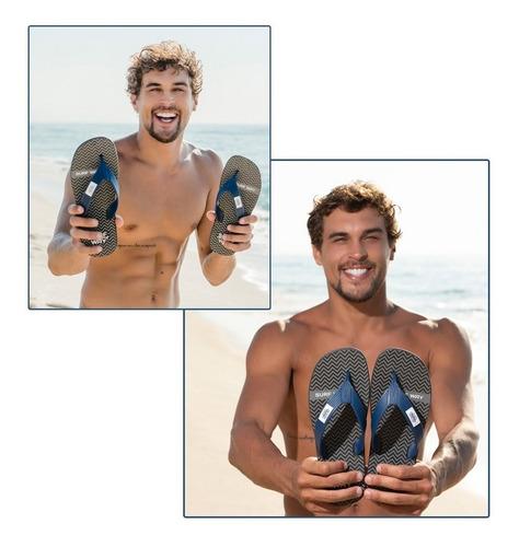 12 pares de chinelo surfway danper masculino adulto original
