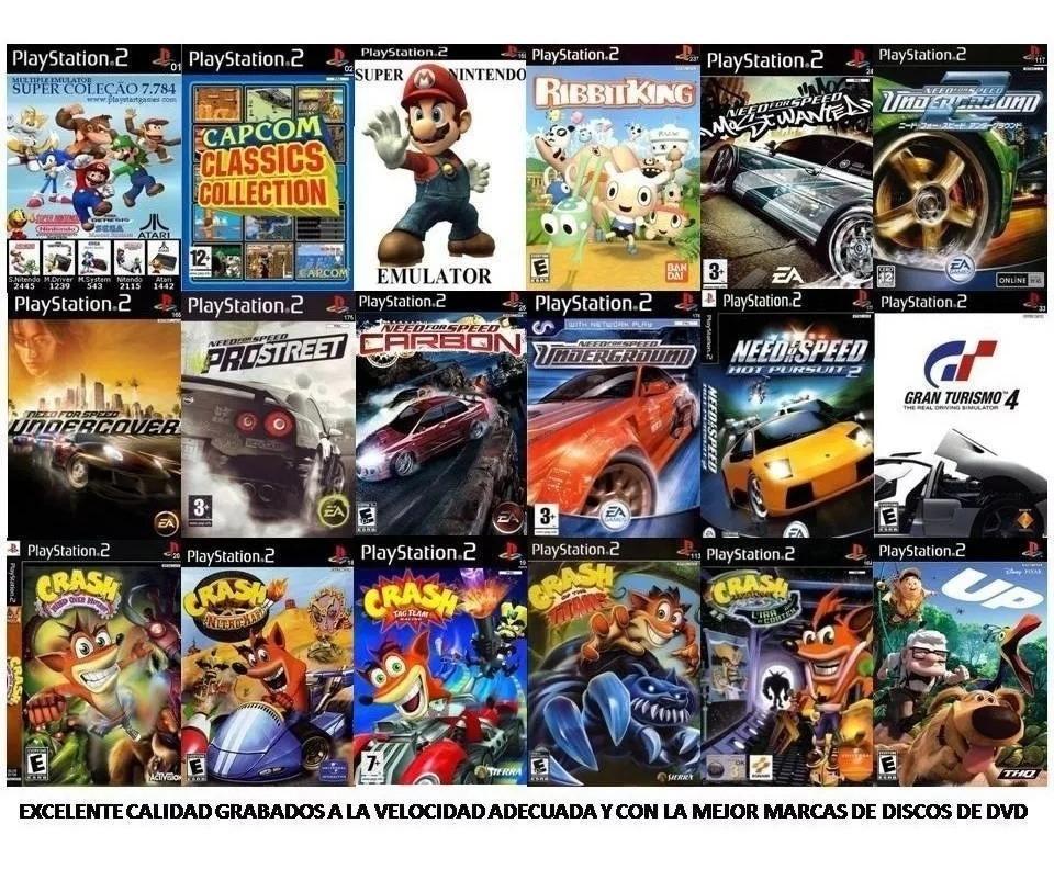 12 Patchs Para Ps2 Jogos A Sua Escolha - Muitos Titulos Em Português -  Playstation 2