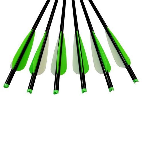 12 pc 18 pulgadas flecha de ballesta pernos aluminio # 2219