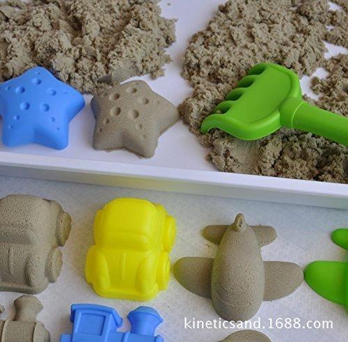 12 piezas de movimiento de arena cinética interior de la pl
