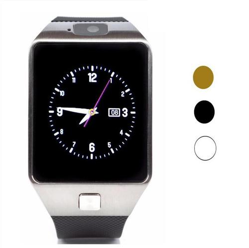 12 piezas smart watch dz09 dorado, negro, plata, blanco