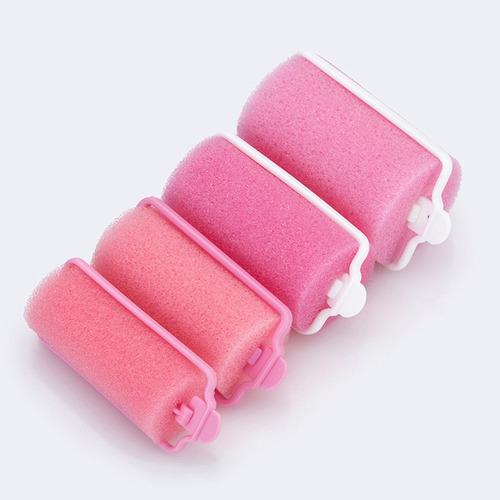 12 piezas wave beauty hair foam rollers diy hair curlers mod