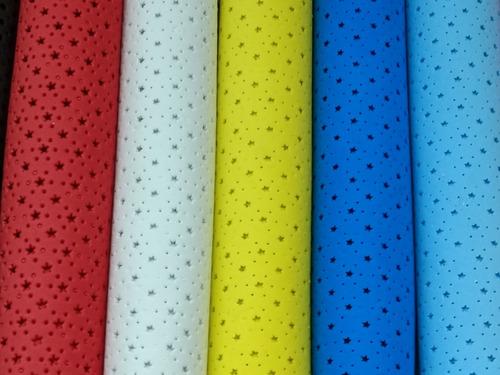 12 planchas goma eva calada grande pliegos 60x40