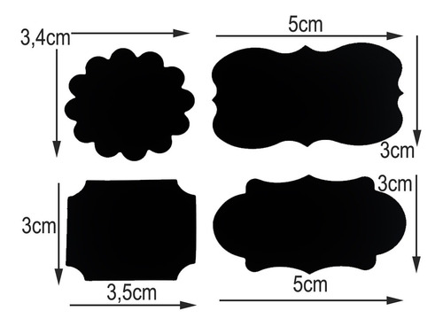 12 pote vidro tampa rolha + 1 caneta removível + 12 adesivos