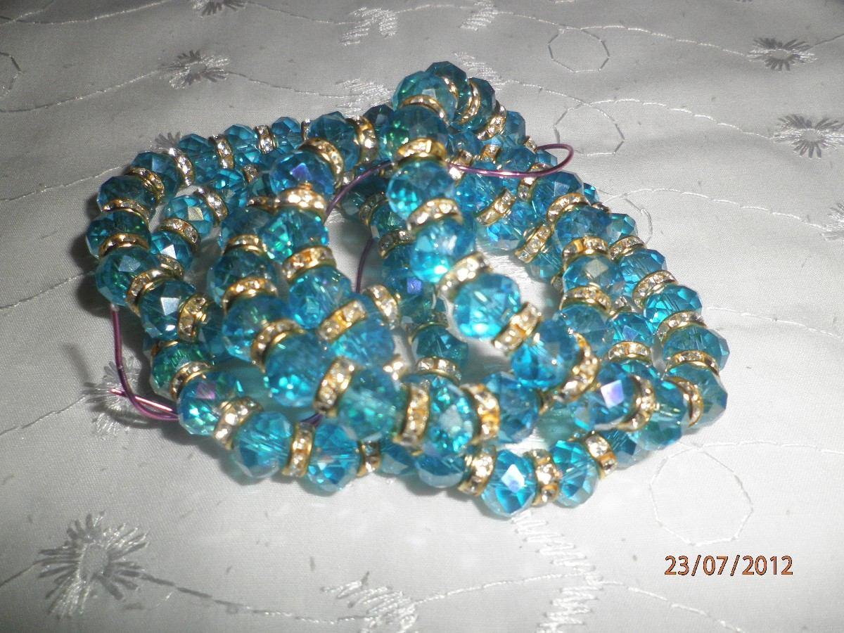 pulseras de cristal colores a elegir