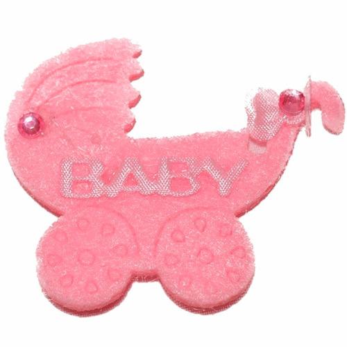 12 recuerdos baby shower cochecitos rosados  fiestaclub