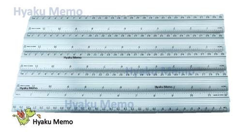 12 reglas de 30 cm metálicas no se rompen, siempre listo