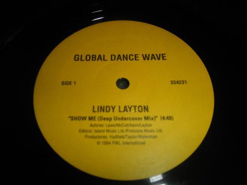 12'' remix lindy layton & michael watford - show me / h. man