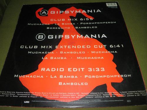 12'' remix vinyl importado de los dukes - gipsymanìa (1992)