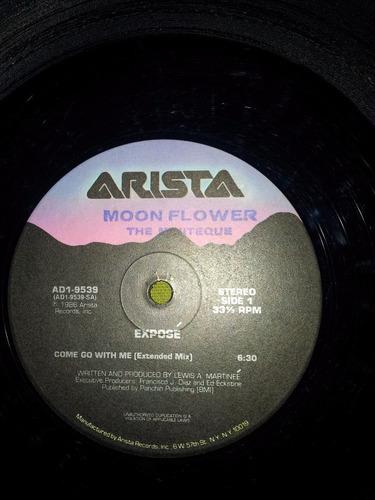 12'' remix vinyl importado exposè - come go with me (1986)