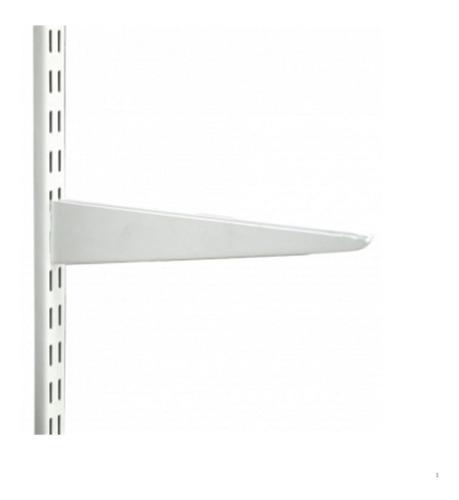 12 riel 2 mts y 48 mensula reforzada de 37 cm blanco 02-19