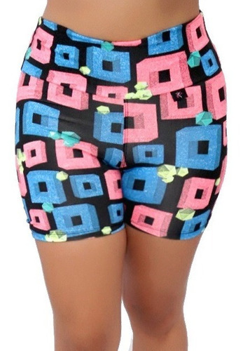 12 shorts academia moda fitness suplex atacado. ref: 045