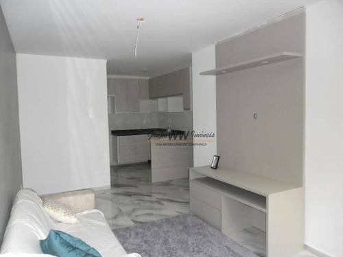 12 sobrados em condomínio fechado com 88 m² de área útil. - so1160