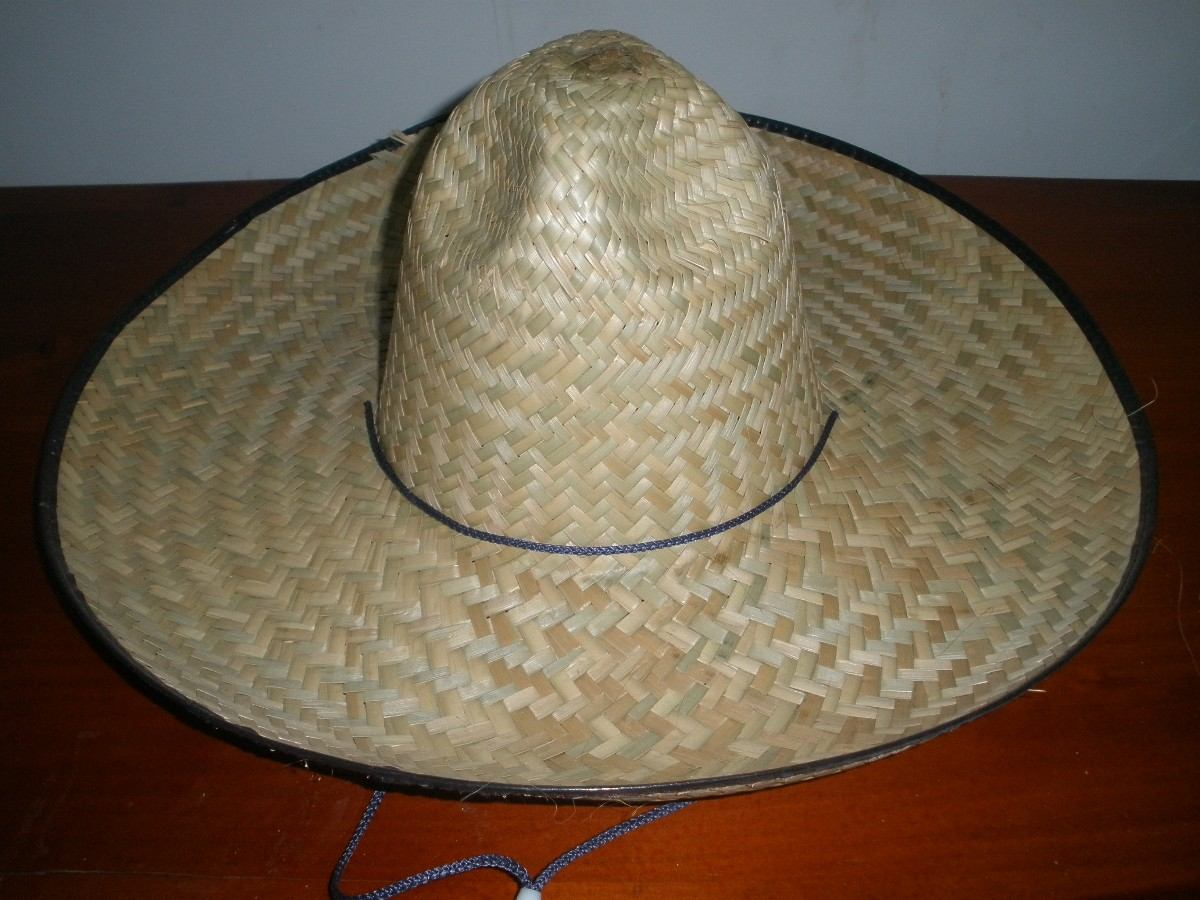 12 Sombrero Charro Caporal Adulto Paja Barato Palma -   749.00 en ... 08bec822936