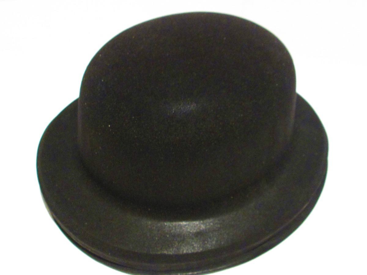 12 Sombrero Negro Bombin Fieltro Plastico Boda Batucada -   299.00 ... 3de9dce8a03