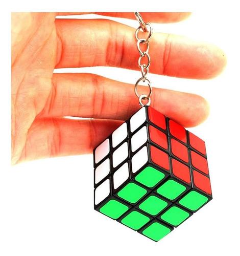 12 souvenirs llaveros cubo mágico rubik regalos infantiles