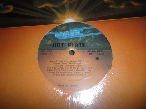 12'' special disco mixer en vinyl - hot plate vol. 1 (1980)