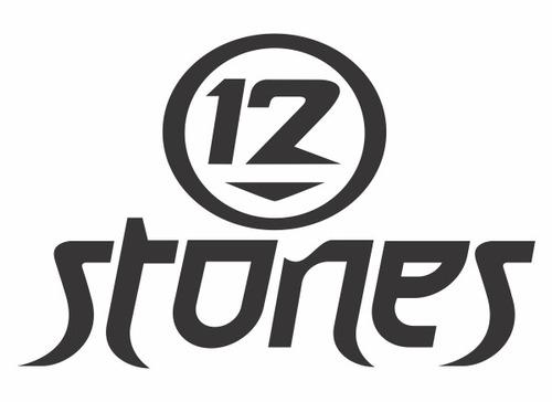 12 stones - 4 adesivos - rl-000001