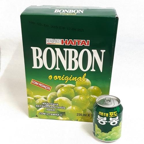 12 suco de uva bonbon coreano refresco com pedaços da fruta