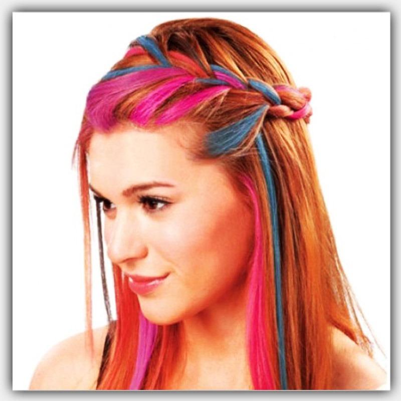 12 tizas color hair chalk para teñir pintar el cabello pelo. Cargando zoom. 6f1cbb9e504f