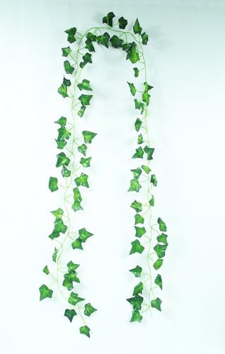 12 trepadeira artificial verde hera pacote ramas folhagem