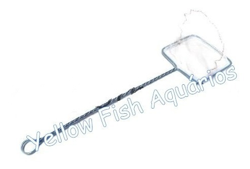 12 unidades rede delfin para aquário  nº 3  -  14cm x 11cm