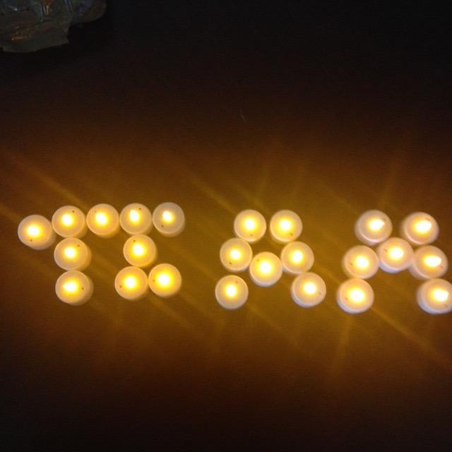 12 vela led de pilas cambiables luz ambar 48horas duracion - Velas de larga duracion ...