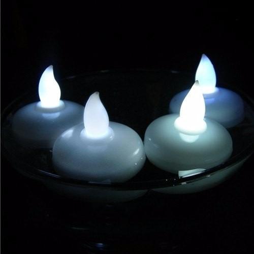 velas led sumergibles agua luz boda xv aos decoracion