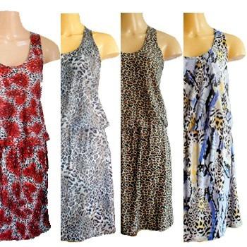 352436b7f23b 12 Vestidos Elástico Cintura Lote Revenda Atacado Plus Size - R$ 306 ...
