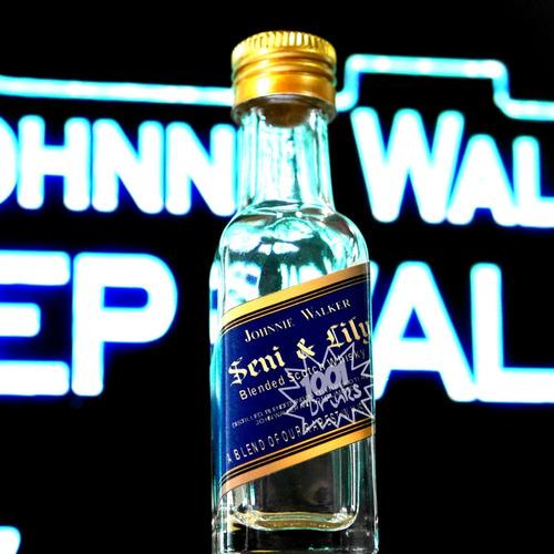 12 vidros 20ml personalizados | cha de bebe | whiskey bu3