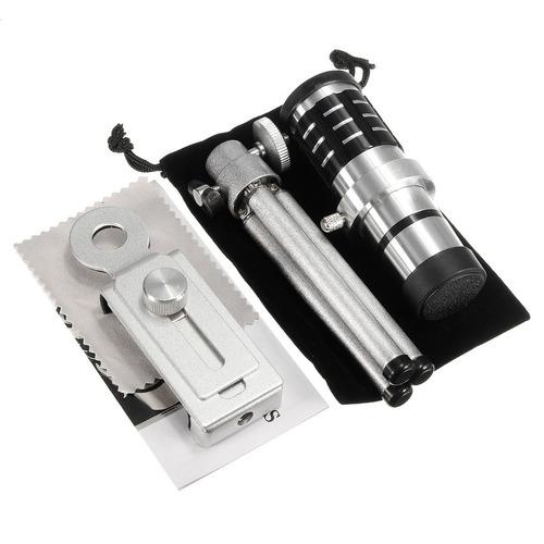 12 x / 18 x universal teléfono celular cámara teleobjetivo