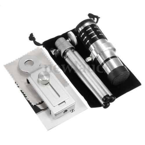12 x 18 x zoom universal teléfono cámara telescopio telefoto