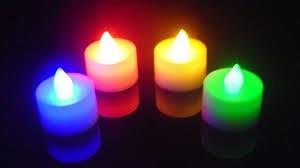 12  x velas led ideales para decoración / fiestas / eventos